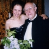 With Maestro Mstislav Rostropowitsch ('2007) after the concert in Russia