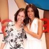 With Lavinia Biagiotti during the Biagiotti Fashion Show in Milan