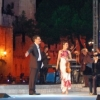 At the Award-Ceremony of 'Premio Sirmione Catullo' in Sirmione, Italy