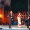 At the Award-Ceremony of 'Premio Sirmione Catullo' in Sirmione, Italy