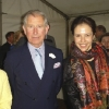 With Kira Ratner and His Royal Highness The Prince Charles of Wales