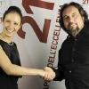 With Patrizio Paoletti, Chairman of
