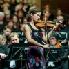 Performing the Concerto g-moll by S. Coleridge-Taylor in Bayreuth, Germany. With Arn Goerke and Hof Symphony Orchestra; Foto: Andreas Harbach, ha